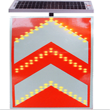 Best selling road construction inducing traffic solar flashing light  sign board