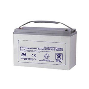 LEOCH LP12-100/DJM12100, 12V100AH maintain-free sealed lead acid battery