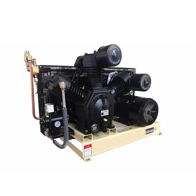High pressure piston air compressor 30bar natural 300 bar air compressor breathing air compressor and for diving