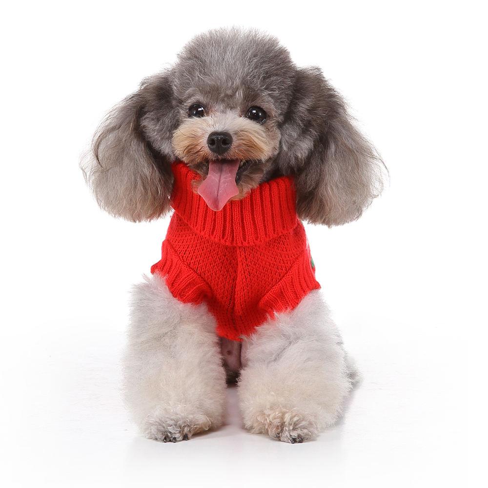 Wholesale manufacturer OEM custom logo christmas sweater dog clothes pet apparel