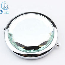 Crystal Compact Mirror Travel Cheap Wholesale Pocket Mirror