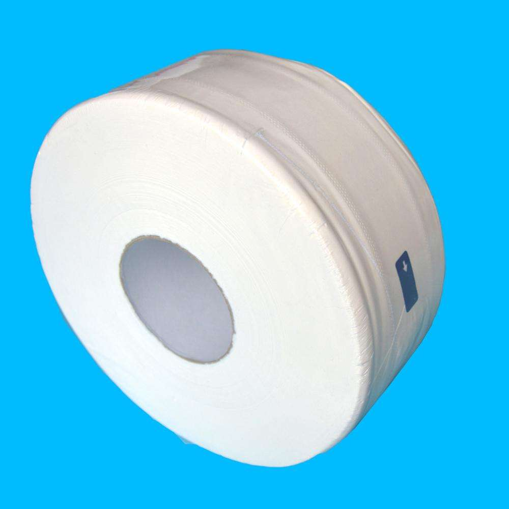 2ply Grote Wc Roll Papier Reliëf Geen Fluorescerende <span class=keywords><strong>Jumbo</strong></span> Bad Weefsel Jumbobroodje Toiletpapier