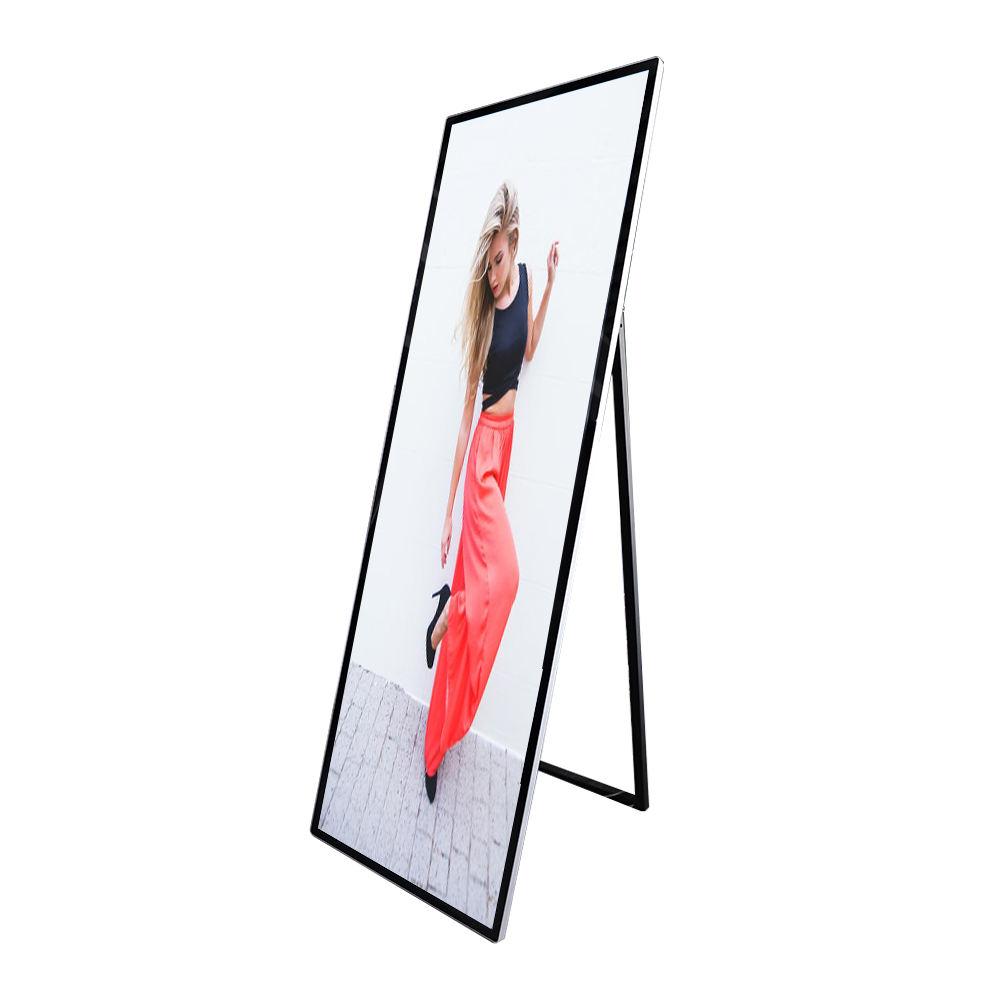 Su misura HD standing pubblicità poster di segnaletica digitale a cristalli liquidi