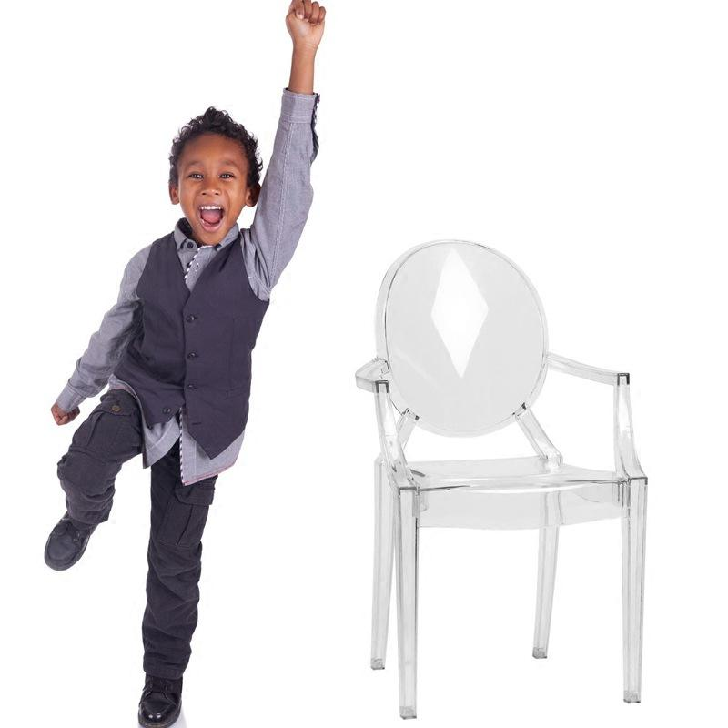 Kids transparent acrylic chair