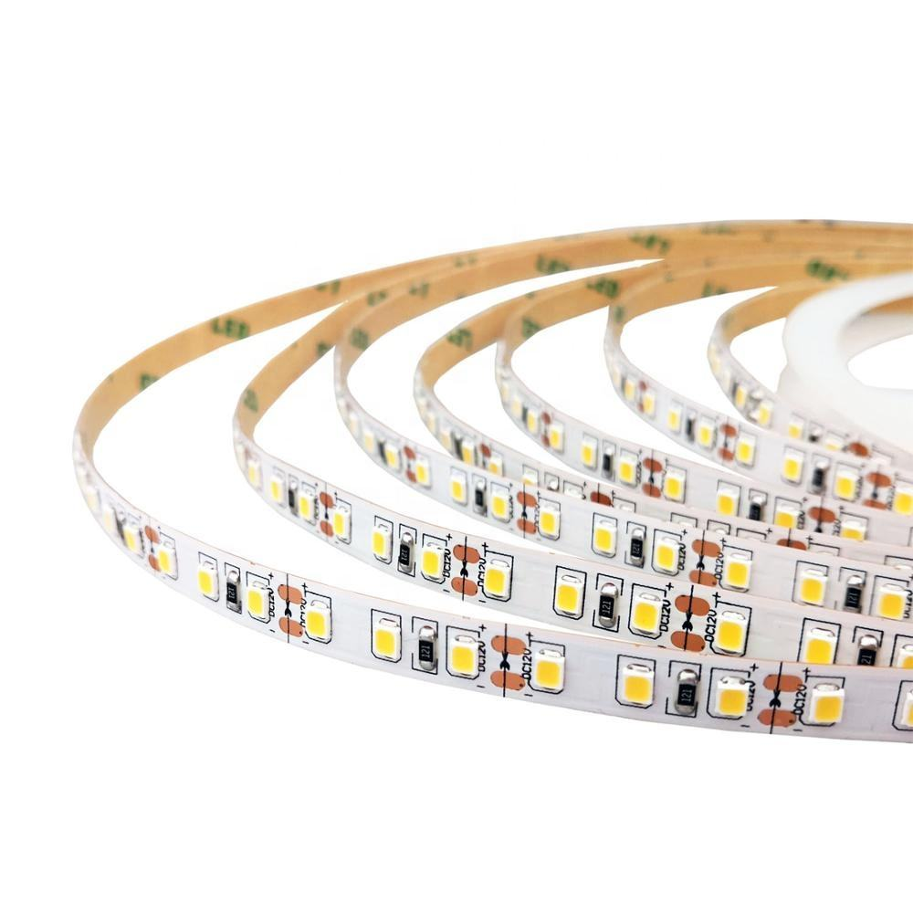 Super Bright 120LEDs Per Meter 8ミリメートルPCB White DC 12V 24V LED Rope Light Flexible LED Strip 2835