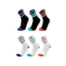 MEIKAN Hot Sale Spring Seamless Custom Knitted Crew Cotton Running Compression OEM Sport Men Socks
