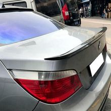 ABS Plastic Rear Trunk Boot Wing Lip Roof Spoiler For BMW E60 M5 520 525 528 535 Spoiler 2008-2011