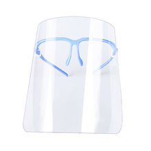 Cooking Anti Splash Face Cover Kitchen Anti Oil Shield Home Tool Kitchen Anti Fog Face Guard Glasses frame