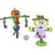 Scarecrow and pumpkin head scarecrow combination embroidery patch 3d diy cartoon fashion creative patches