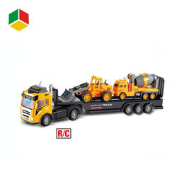 Kids toy car 4ch radio control toy rc construction truck