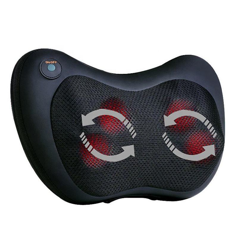 Hot Sell Electric Kneading 3D Neck Back Shoulder Massager Machine Car Home Travel Vibrating Massage Pillow