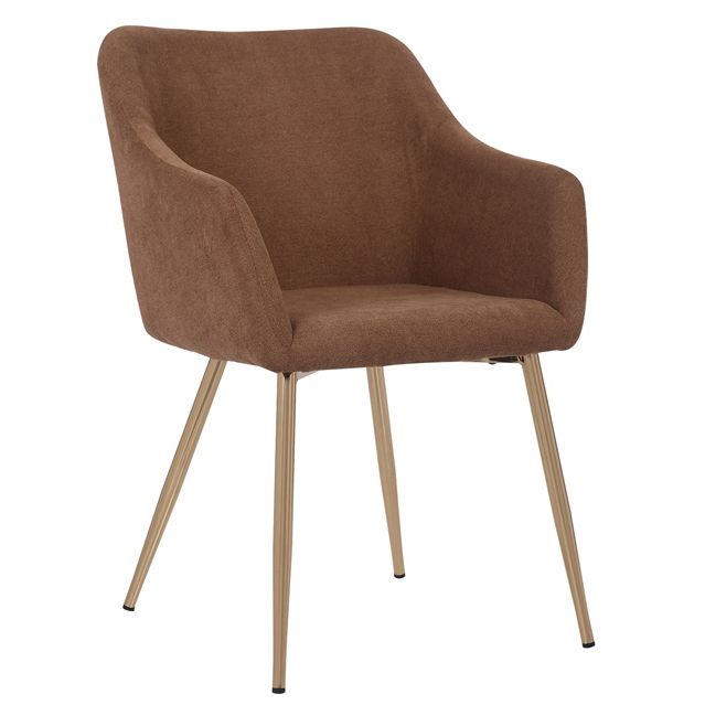 Populaire Bruin <span class=keywords><strong>Accent</strong></span> Stoel Stof Woonkamer Arm Stoel Moderne Vrijetijdsbesteding Stoel