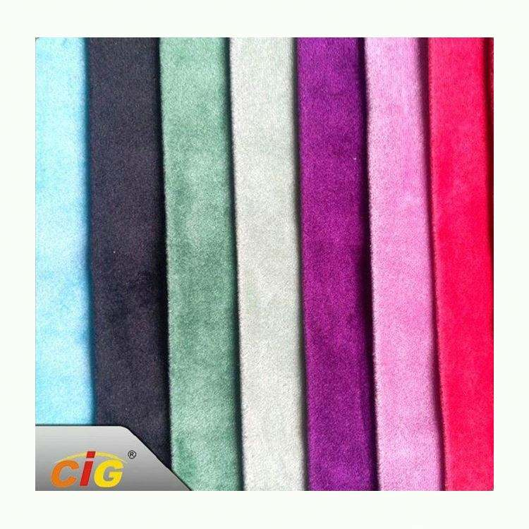 Competitive Price Latest Design german velour fabric