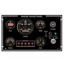 Engine Car Boat Truck Gauge Dash Cluster Panel Programmable Gauges Instrument Panel 335*200mm