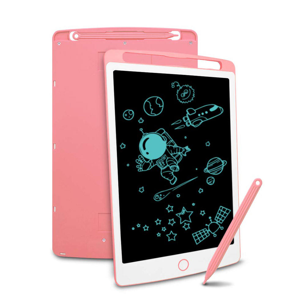 POLICRAL LCD Writing Tablet 8.5 Inch Doodle Board Electronic Drawing & Writing Memo Message Notice Board