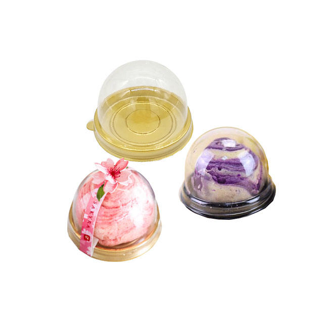 Cheap Disposable Mini PET Cake Domes Plastic Packaging