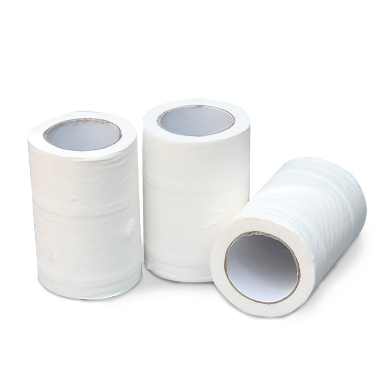 Wholesale small roll paper for hotel bathroom and guest room, 40g household roll paper toilet paper