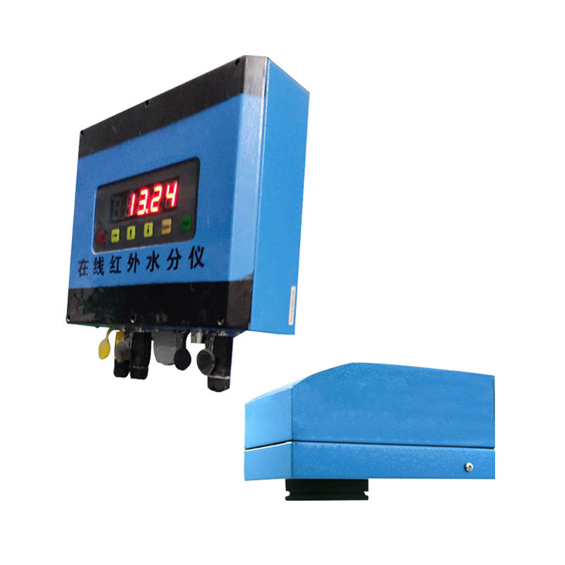 NIR Online Moisture Tester for Chemical raw materials, grains, wood chips