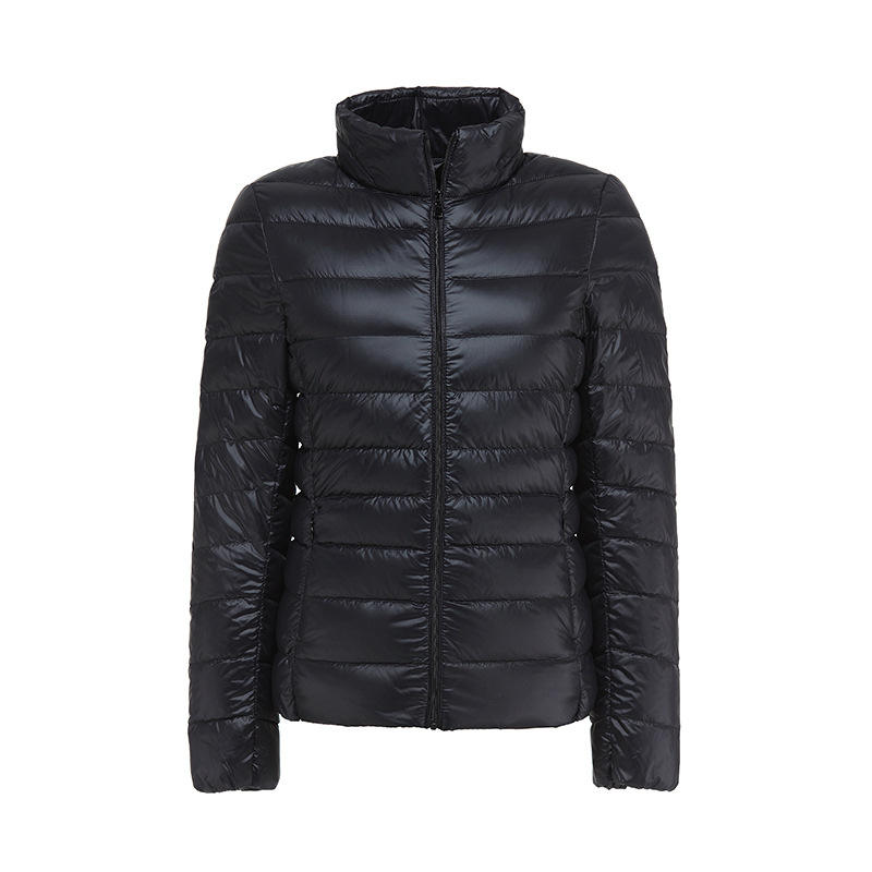 Low price heat cotton down jacket ultra light weight down jacket for women