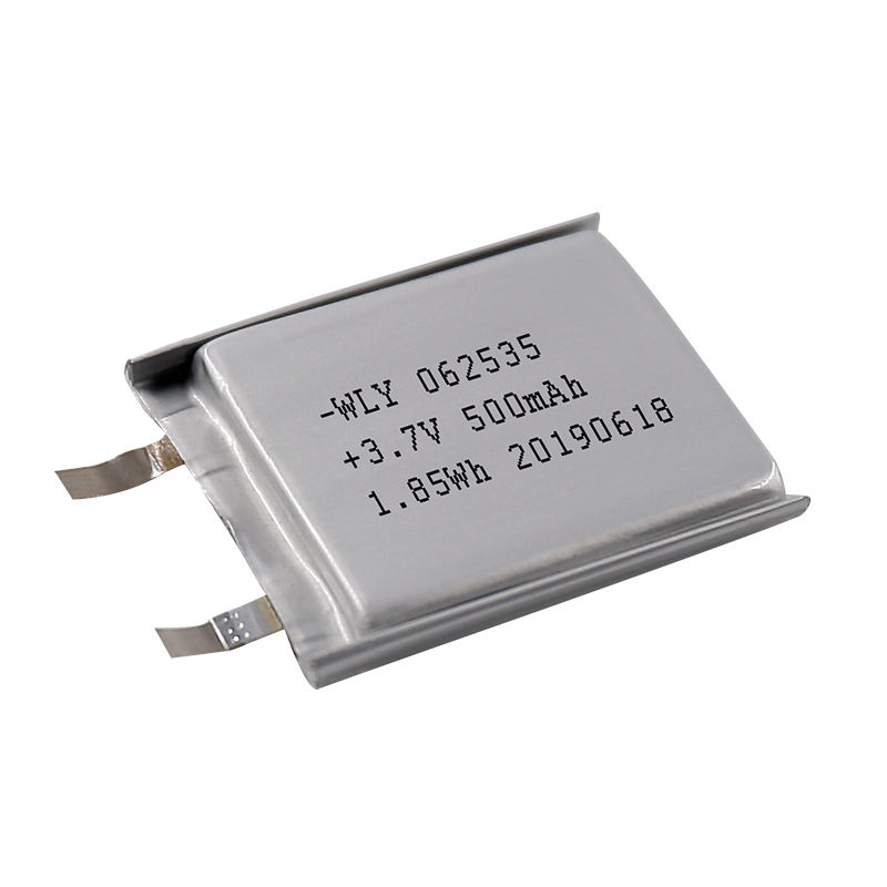 Msds [ Battery ] Battery Factories Deep Cycle 3.7v 500mah 1.85wh Lipo Battery 062535 For Power Bank