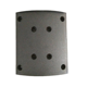 Assemblage brake shoe brake lining with rivet manufacture brake lining