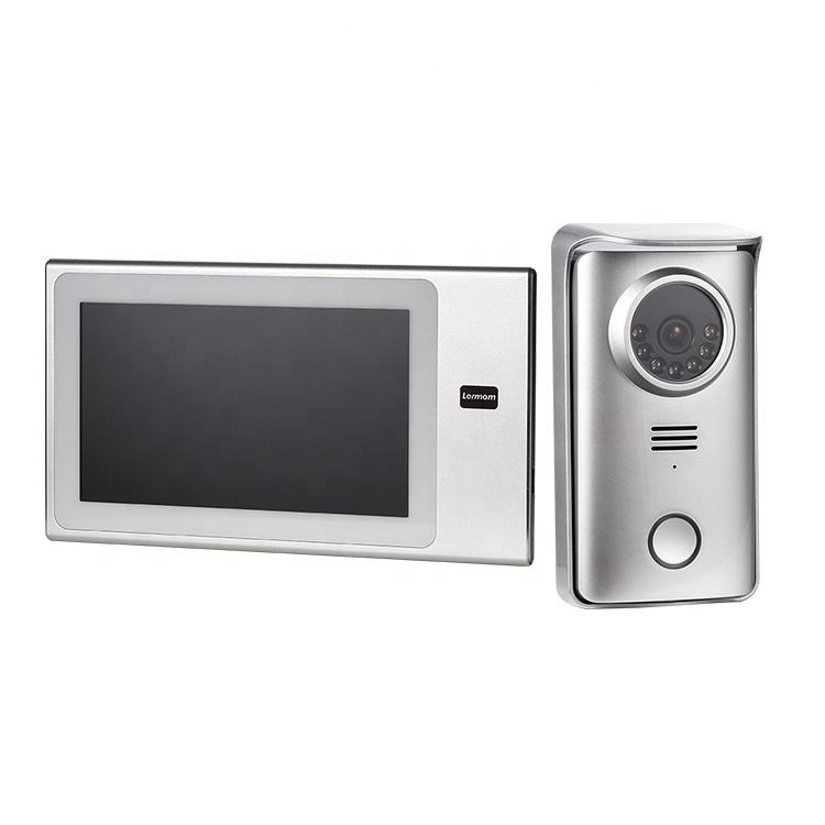 Touch Panel AHD door 4 wire villa video intercom system for apartments