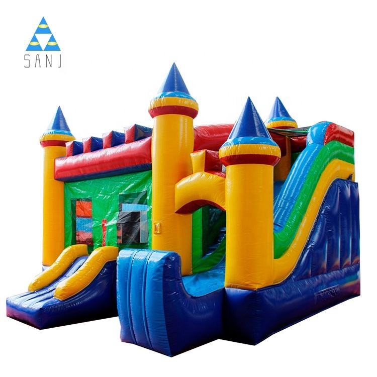 Commercial Inflatable Bounce House Jumping Castles Bouncy Bouncer Bouncing For Kids For Sale