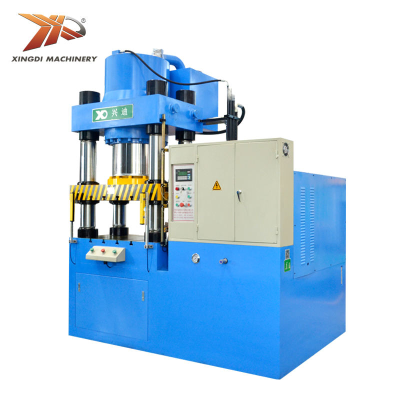Building Material Shops Press Machine Hydraulic 4 Post Forming 2000 10000 Ton Power For Coining