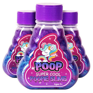 Amazon Hot Sale Crazy Colorful Super Cool Galaxy Putty Japan Korea Slime Unicorn Poop Slime