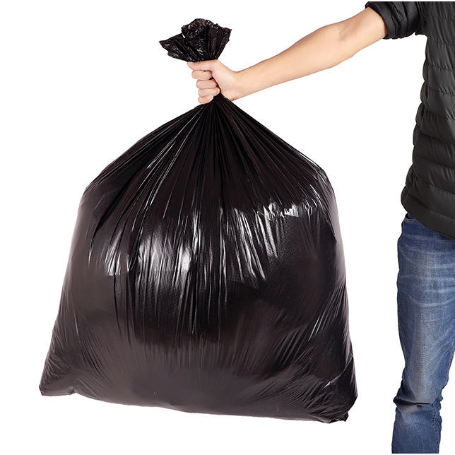 Plastic Medium Large Size Durable Garbage Bag