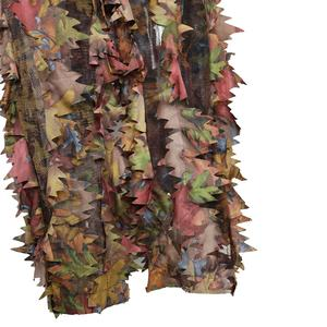 Woodland 3d leaf S/M/L camouflage hunting suit waterproof Hooded ghillie suit