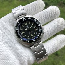 SD1970 Wholesale Steeldive Best Selling 6105 Turtle Watch 200m Waterproof Ceramic Bezel Mens NH35 Automatic Dive Watch