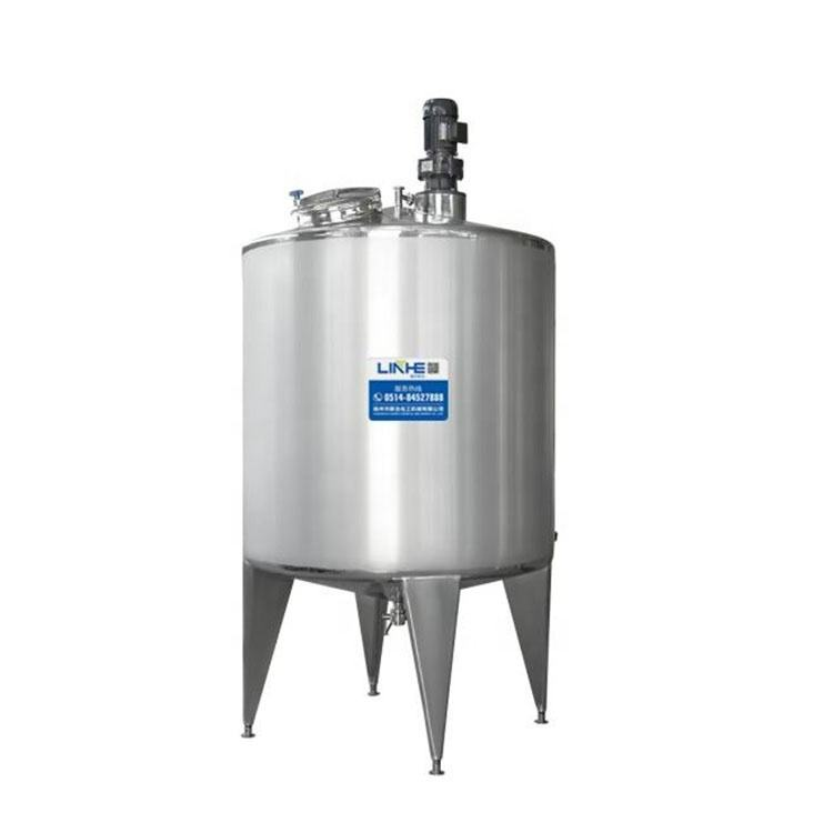 Factory Price Stainless Steel Movable Mixing Tank