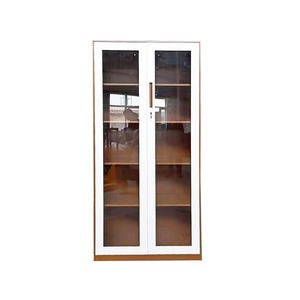 Glass Sliding Door Cabinet / Steel File Cabinet / Metal Furniture Garage Cabinet