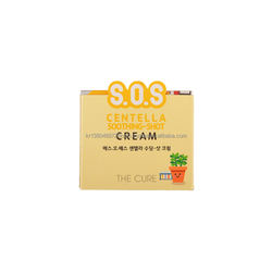 ODM  OEM Korea Private Label Manufacturing Centella Soothing Cream Moisturizing Cream Made in Korea