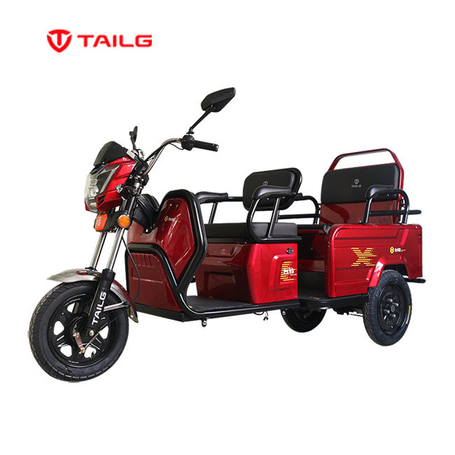 Tuk Tuk Taxi India electric passenger tricycle for adults