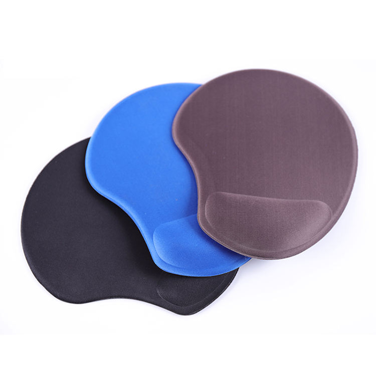 Color : Red MUTANG Bracers Mouse Pad Comfortable Ergonomic Mouse Mat with Wrist Support Red,Blue