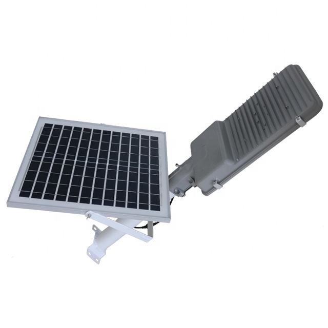 China Factory Separated Design waterproof Split Power Led Solar Street Light 100W china solar street lights