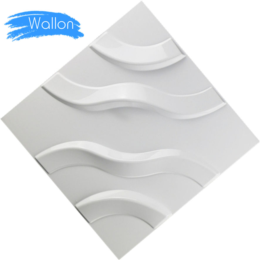 Free Glue Self Adhesive 3D Foam Wallpaper Stickers PVC Ceiling 3D Wall Panel Free Shipping