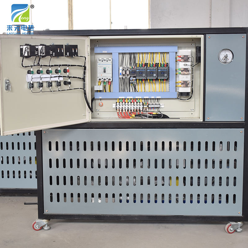Yancheng Laiyuan custom 120kw Industrial Electric Thermal Thermic Fluid Oil Boiler Heater
