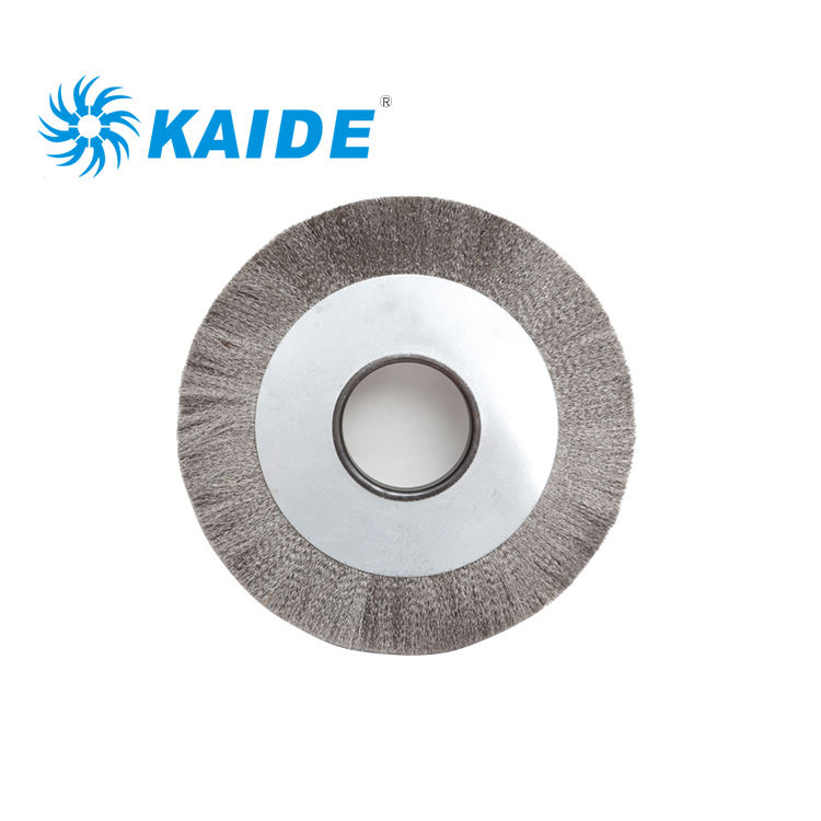 Custom size good price industrial Stainless steel wire wheel brush for deburring