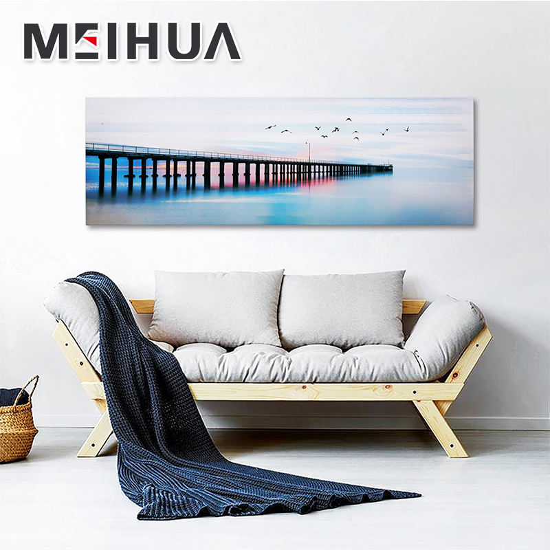 Fashionable customize cheap famous easy landscape painting art on canvas