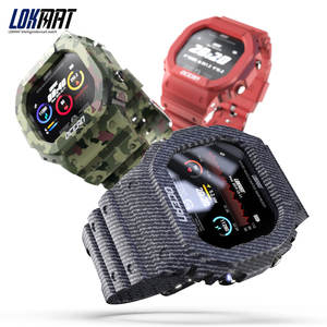 Lokmat OCEAN smartwatch IP68 waterproof multiple sports functions relojes inteligentes bluetooth smart watch
