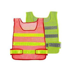 Summer High Visibility Reflective Workwear Traffic Warning Safety Vest