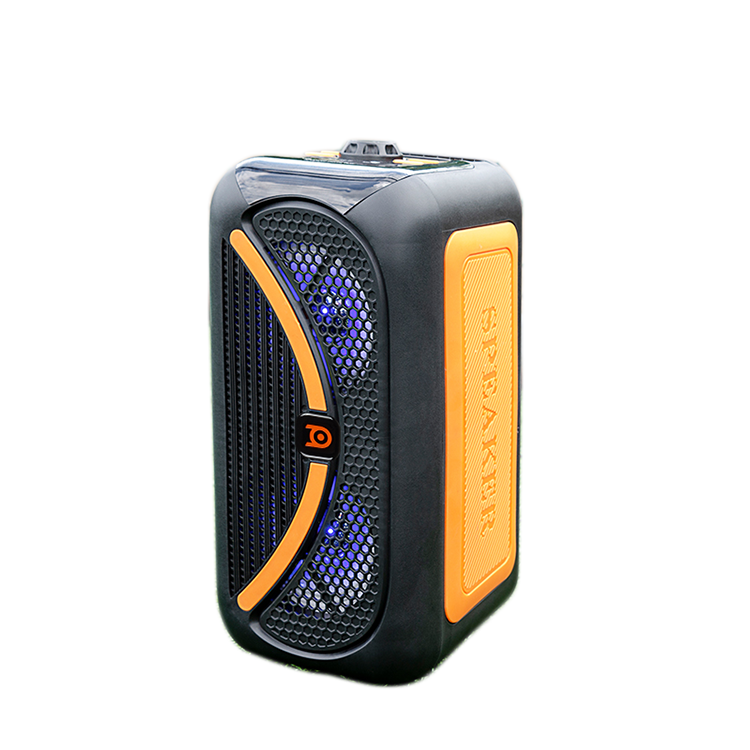 BD-H8251 affordable dual 5 inch full range pretty portable speaker wireless