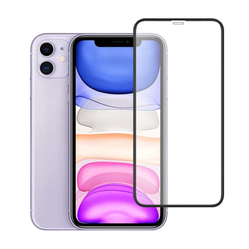 hot selling 9D Full Coverage Tempered Glass For iPhone X 11 pro max Screen Protector Glass