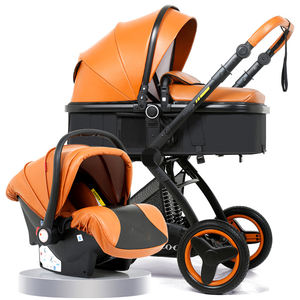 Nuevo modelo 360 Grado de aluminio bebé cochecito de Polonia