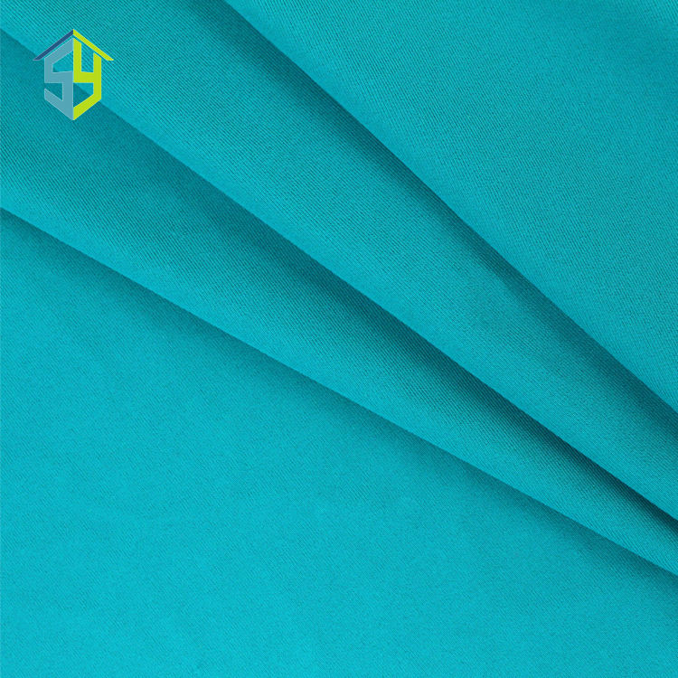 Attractive color shiny 85 polyester 15 spandex lycra swimwear fabric