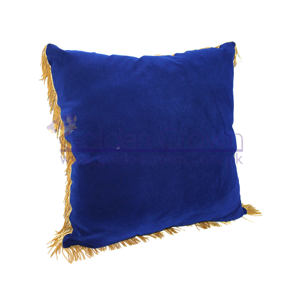 Coussin ceremonies velvet pillow and cushion