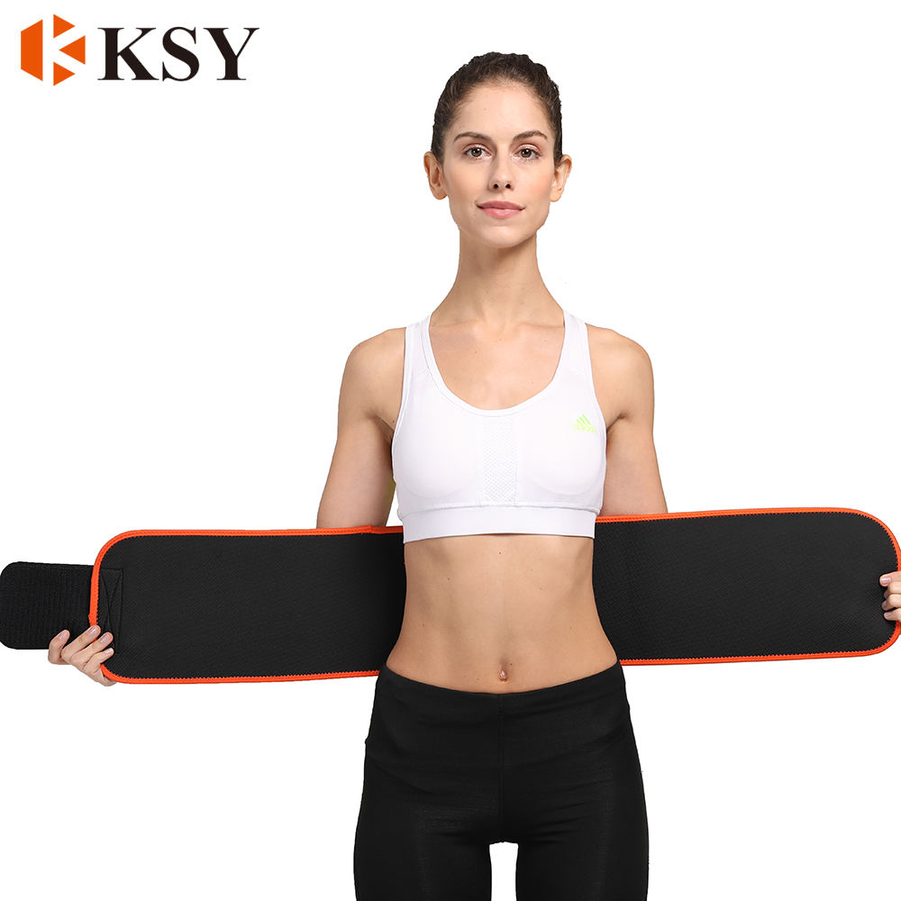Neoprene Sweat Workout Slimming Body Shaper Sauna Exercise Waist Trimmer Trainer Belt for Women Men